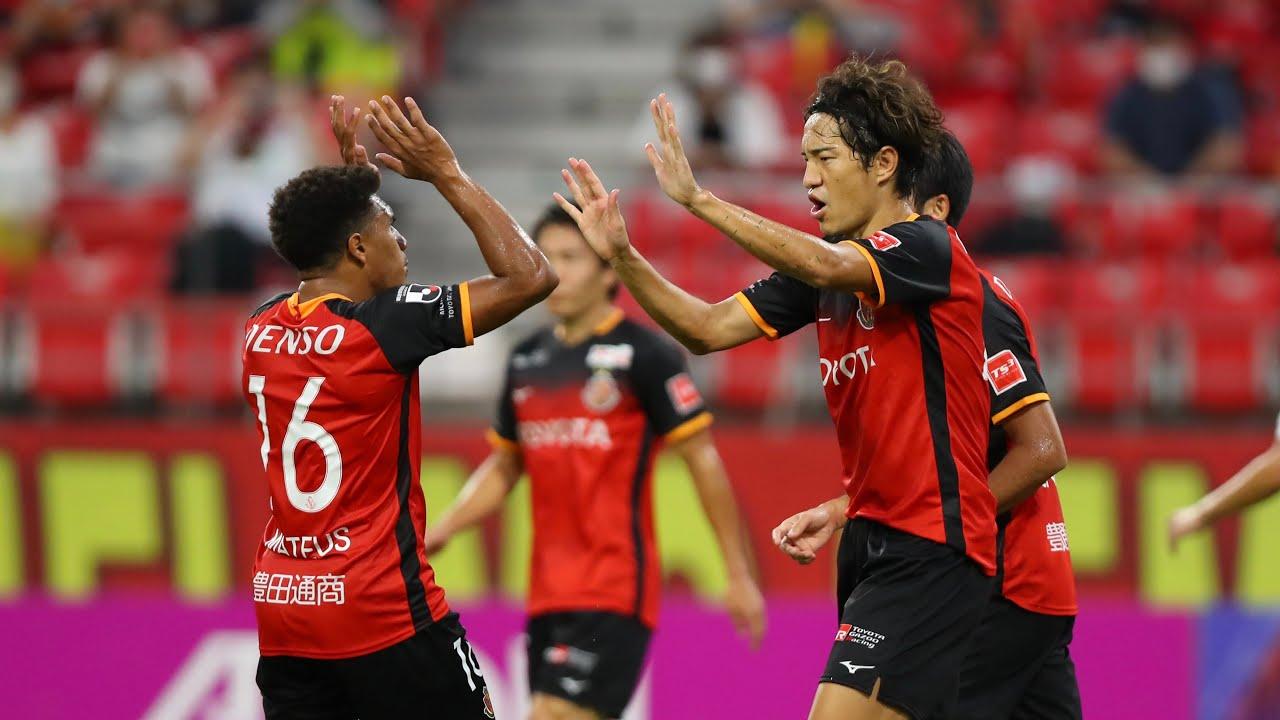 【DAZNハイライト】名古屋グランパス vs ヴィッセル神戸(H) 2020明治安田生命J1リーグ 第17節