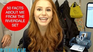 50 FACTS ABOUT ME FROM THE RIVERDALE SET | Madelaine Petsch