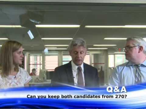 Gary johnson interview with washington examiner 6/7 2016