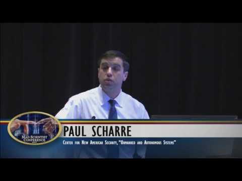 Mad Scientist GTI Conference 2017: Unmanned and Autonomous Systems w/ Paul Scharre