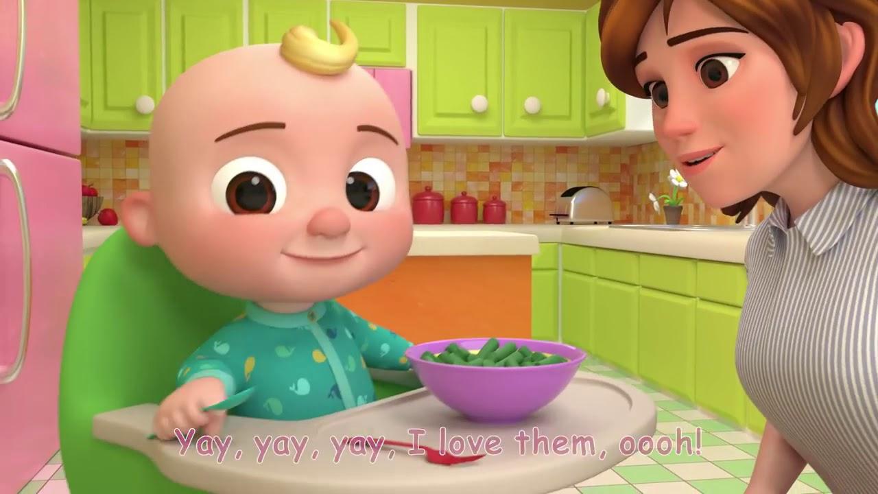 Bài hát tiếng anh cho trẻ em – Yes Yes Vegetables Song remix