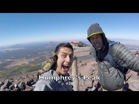 Hiking Humphrey's Peak the highest peak in Arizona