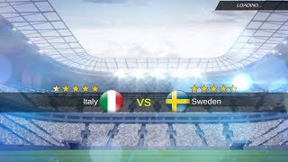 İtaly -  Sweden World Cup Playoff  Match mobile soccer league