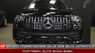 2020 Mercedes GLE 53 SUV 4Matic+ - Exterior And Interior - Montreal Auto Show 2020