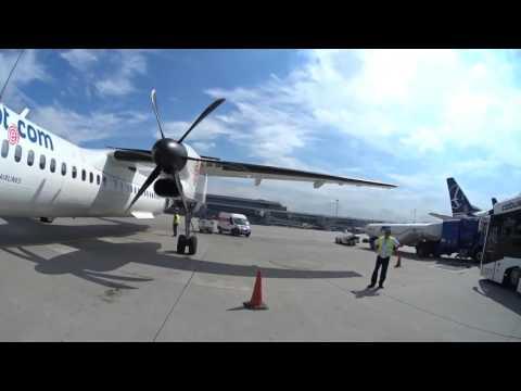 LOT Polish Airways Budapest-Warsaw-Odessa De Havilland Canada DHC‐8‐400 Dash 8Q/ Embraer 175