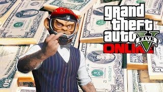 GTA 5 Online - Rank Up & Make Money Fast! (GTA V)