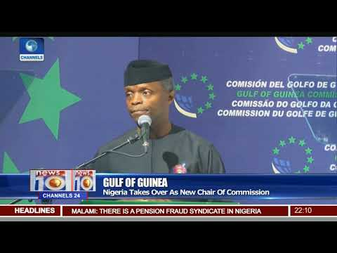 Gulf Of Guinea: Osinbajo Asks Member States To Renew Commitm
