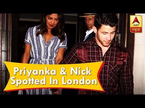 Priyanka Chopra & Nick Jonas spotted in London