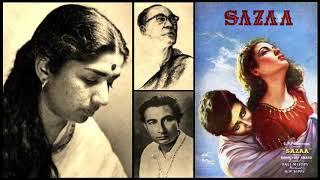 Gambar cover Lata Mangeshkar - Sazaa (1951) - 'tum naa jaane'