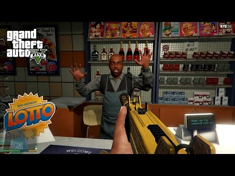 GTA5 PC First Person 1080p Part 10 - Taxi Job and Robbery