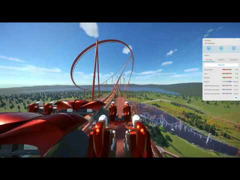 Mostly survivable 200mph Planet Coaster ride