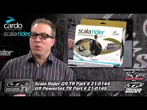 Cardo Systems Scala Rider G9 Powerset Youtube