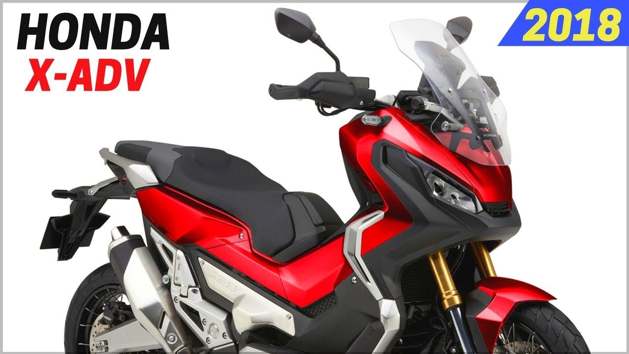 new 2018 honda x adv updated new features and performance adventure scooter youtube. Black Bedroom Furniture Sets. Home Design Ideas