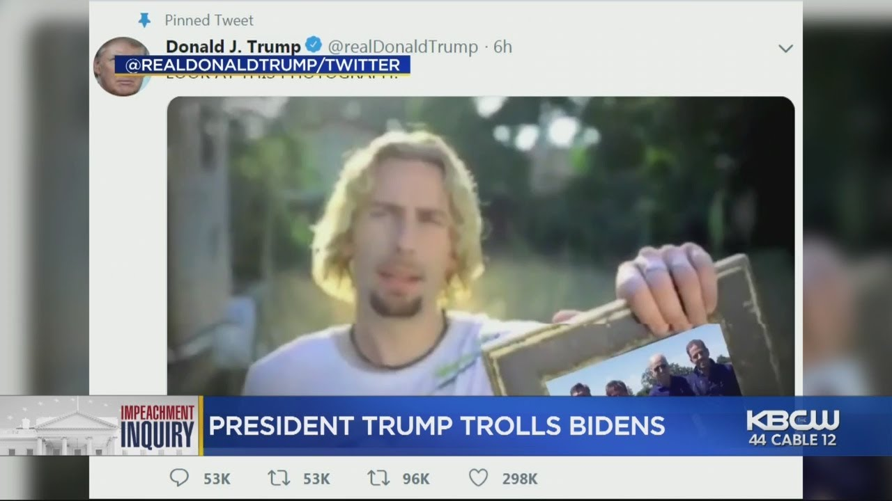 Trump has started a meme fight with Nickelback and the band is winning