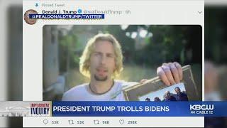 Biden Responds To Trump Using Nickelback Meme To Troll Him On Twitter