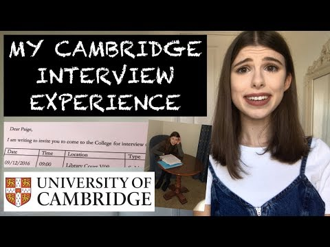 MY CAMBRIDGE INTERVIEW EXPERIENCE | STORYTIME & ADVICE