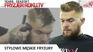 Stylowe męskie fryzury. FryzjerRoku.tv