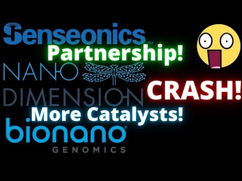 NNDM stock offering CRASH! SENS stock BIG NEWS partnership agreement! BNGO stock analysis & news!