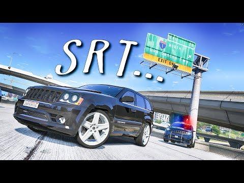 Jeep Grand Cherokee SRT ПОЧТИ КАК МОЙ против Полиции в GTA 5 Online! Полицейские Догонялки в ГТА 5