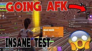 What Will Happen Going AFK In Front of SCAMMERS With Grave Digger *INSANE* Fortnite Save the World