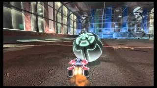 Supersonic Acrobatic Rocket-Powered Battle-Cars Aerial Goal