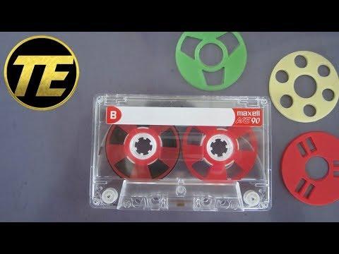 Homemade Reel to Reel Cassette Tape
