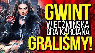 JASNY GWINT! Gameplay i wrażenia z darmowej wiedźmińskiej gry karcianej [tvgry.pl]