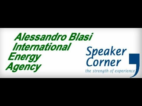 Speaker Corner. World Energy Investment Report 2017. Alessandro Blasi