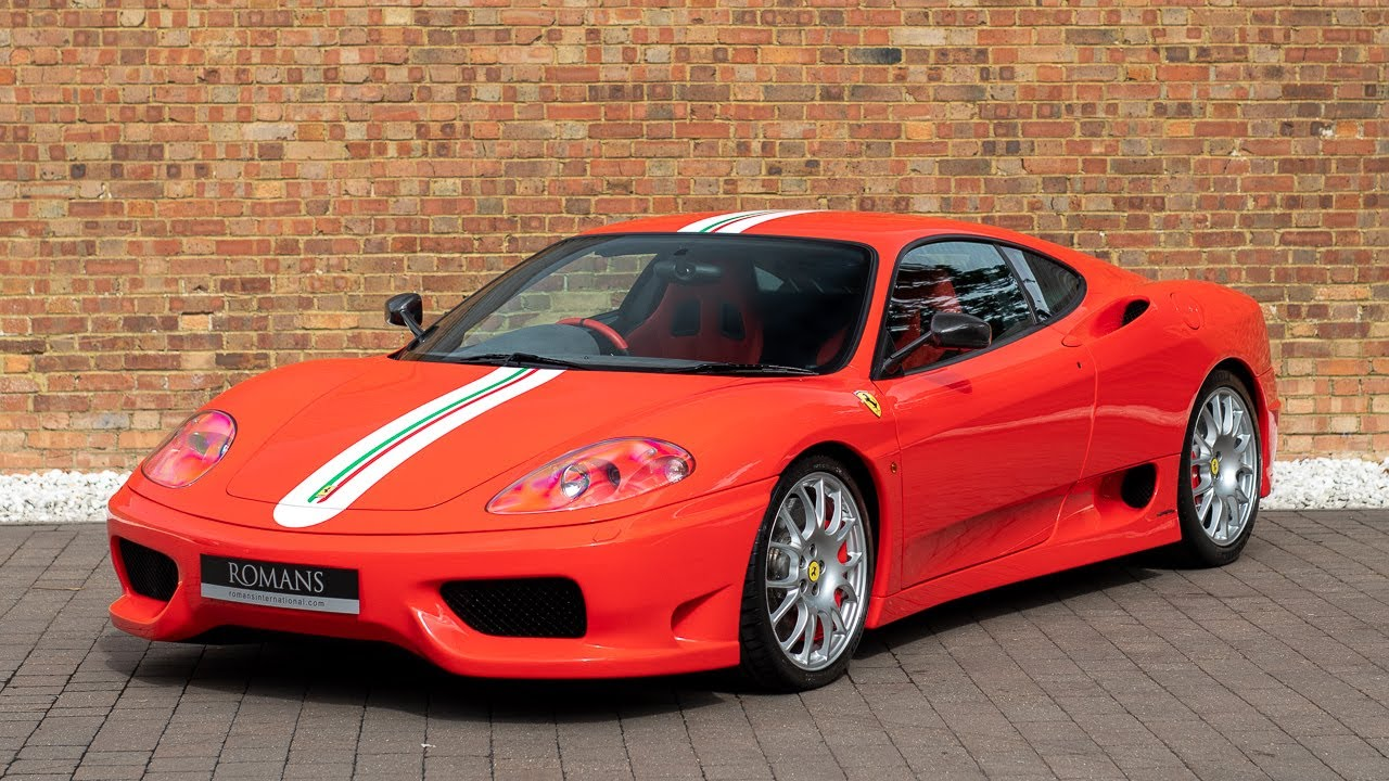 2004 Ferrari 360 Challenge Stradale Rosso Scuderia Walkaround Interior Youtube