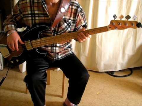 Squier Vintage Modified Precision Bass TB.wmv
