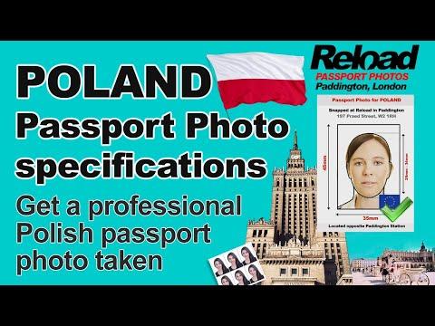 Snap Your Polish Passport Photo And Visa Photos In Paddington, London. Passport Photos For Poland