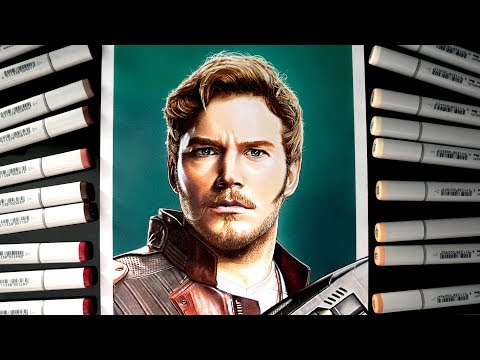 Star Lord Drawing