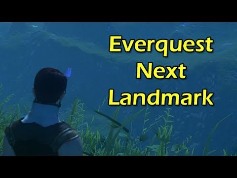Everquest Next Landmark First Look with Wowcrendor! | WoWcrendor