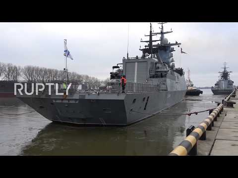 Russia: Warships escorted through English Channel arrive home
