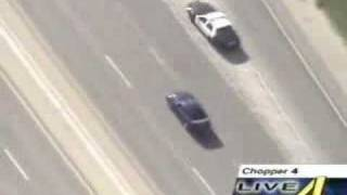 Extreme Mustang Cop Chase/Crash
