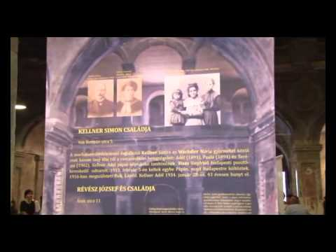Papa, Hungary - Holocaust Memorial Exhibition in the old destroyed Synagogue