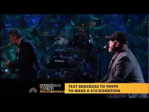 "BILLY JOEL ""Miami 2017 Lights on Broadway"" Donate@800-HELP-NOW or www.redcross.org (Hurricane Sandy)"