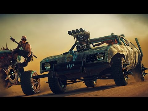 Mad Max - Full movie all game cutscenes - PC Ultra [1080p 60fps]