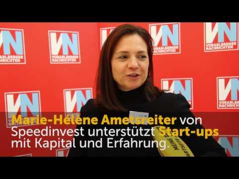 Wirtschaftsforum 2016: Marie-Hélène Ametsreiter zu Kooperationen mit Start-ups
