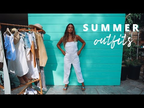 Sustainable Summer Outfits (surfer Girl Style)