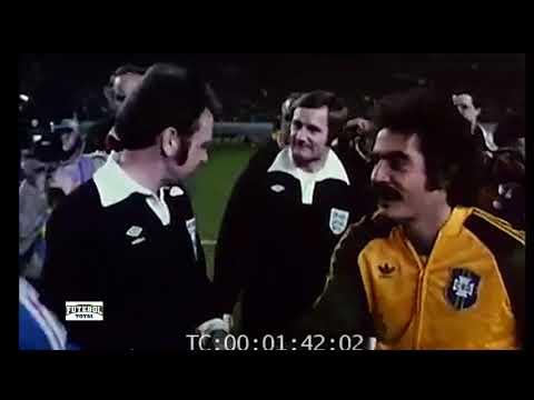 FRANCE 1-0 BRAZIL (1978) // Amazing MATCH // Rivellino, Zico, Platini, Cerezo...