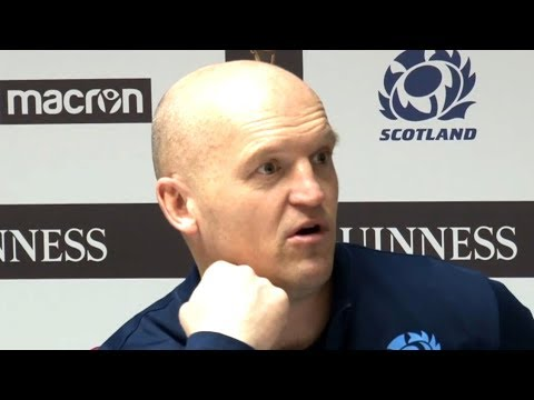 Scotland v Italy - Gregor Townsend, Greig Laidlaw & Blair Kinghorn Post Match Press Conference
