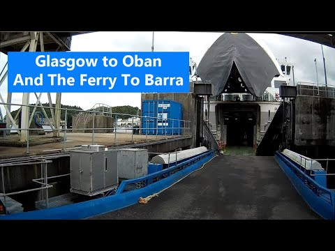 Scotland in a Motorhome Calmac Ferry Oban to Barra Day 1