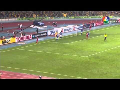 ไฮไลท์ฟุตบอลเอ เอฟเอฟ ซูซูกิ คัพ 2014 รอบชิงชนะเลิศ นัดสอง มาเลเซีย 3-2 ไทย