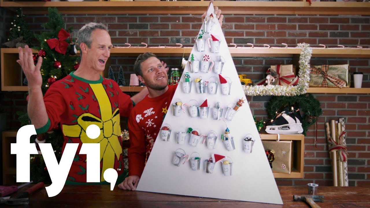 tiny house nation: john and zack's epic advent calendar | fyi