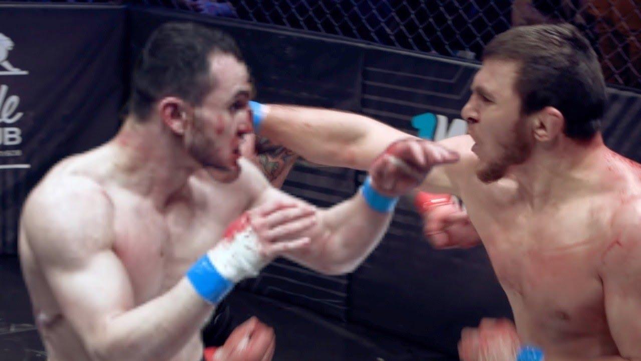Бой Эмиль Новрузов vs Мариф Пираев. Конфликт в эфире, кадры