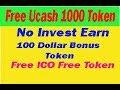 Eran 100 Dollar Ucash Token Instant  Received