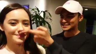 Gambar cover Sweet Giler Hannah Delisha Suka Syafiq Kyle Mencuit Hidungnya Comel Betul Reaksi Hannah!