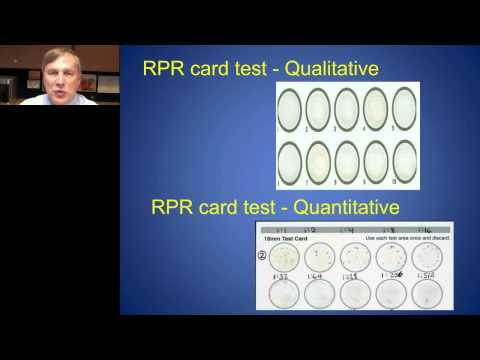 Richard Steece - Syphilis Diagnosis Treponemal Algorithms from the Public Health Perspective