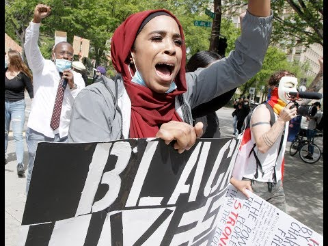 Thousands Gather Downtown For Black Lives Matter Rally